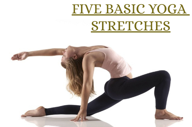 Five basic yoga stretches to start the day