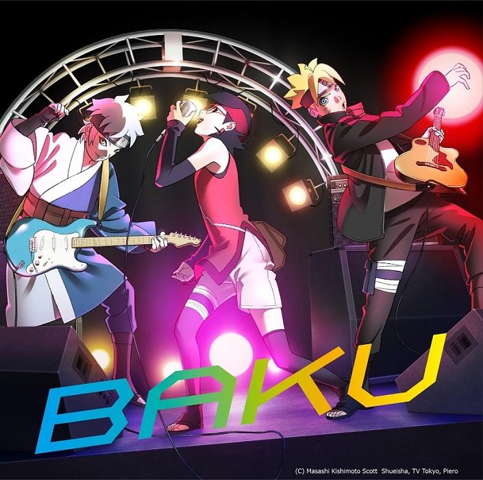 "NARUTO/BORUTO fans rejoice! New single ""BAKU"" (Opening song from BORUTO: NARUTO NEXT GENERATIONS"" by Ikimonogakari goes on sale today!"