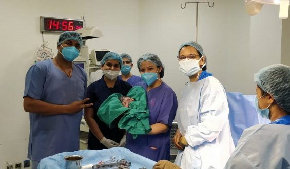 Doctors at Cloudnine successfully perform a rare fetal procedure for the first time in Gurgaon