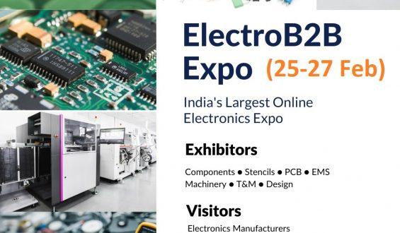 Biziverse announces mega online tradeshow ElectroB2B Expo for Electronics manufacturing