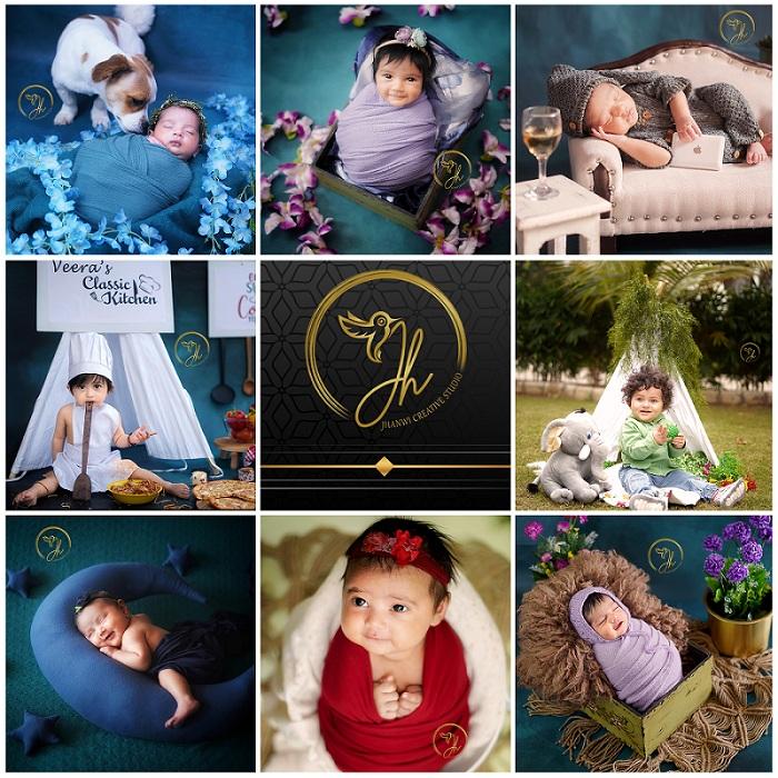 Jhanwi Creative Studio – The Best Studio For Pregnant Moms And Newborns Photoshoots