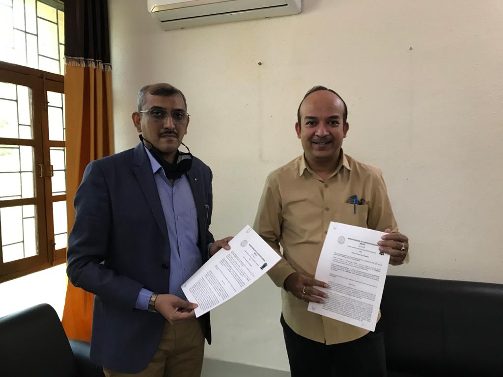 IIT BHU & Ballistic Expert Jeetendra Kochar join hand to develop technology for key government defence Projects