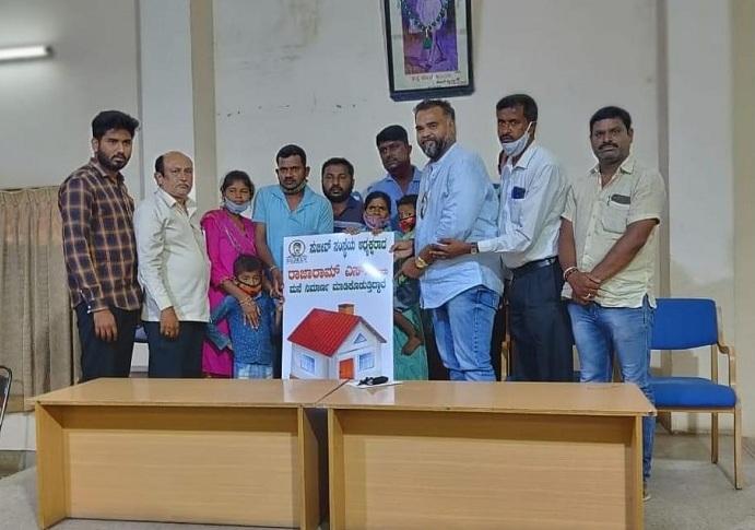 Rajaram Sundaramurthy, a social worker serving people of Mysore