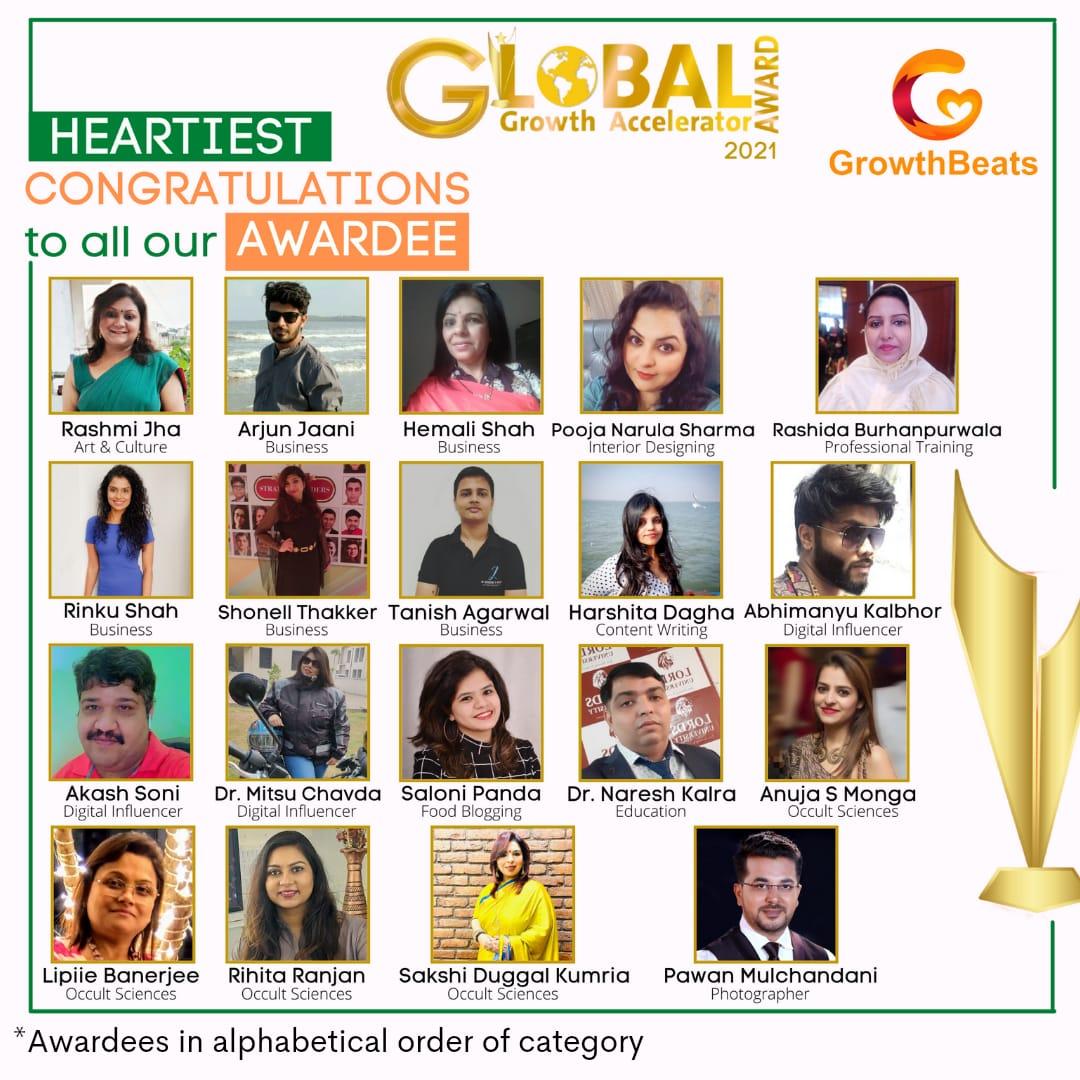 GrowthBeats organized Global Growth Accelerator Awards 2021