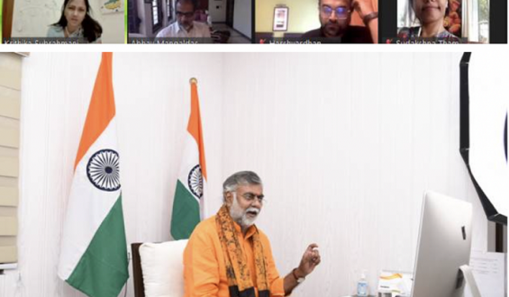 Shri Prahlad Singh Patel addresses webinar 'India's Heritage: Powering Tourism' on occasion of World Heritage Day 2021