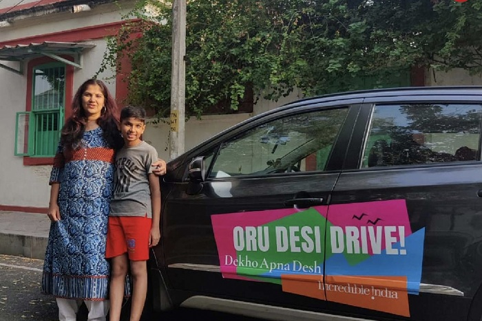 <p>Inspired by Ministry of Tourism, Dr. Mitra Finishes her Drive Through the bylanes of Incredible India! </p>