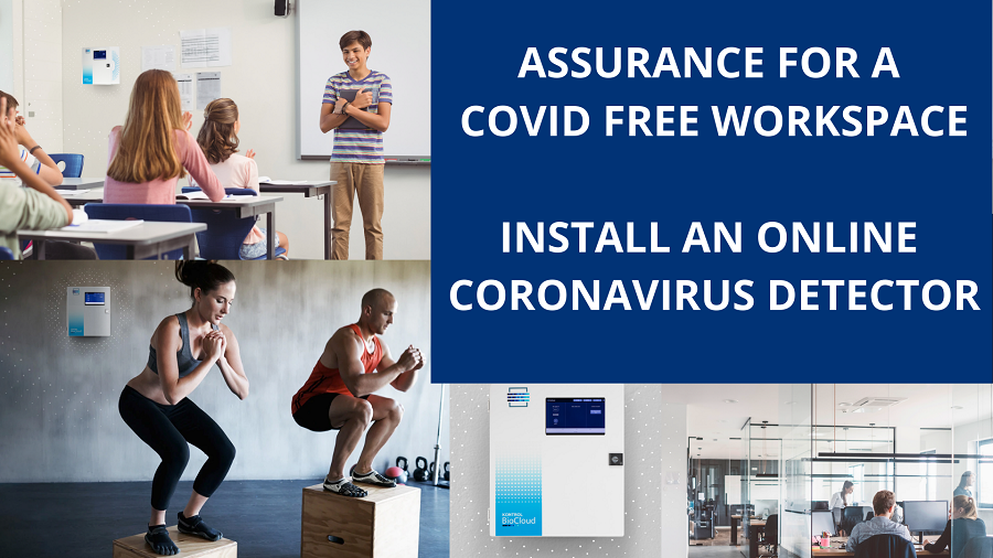 Detect the presence of Coronavirus in your workplace and workspace