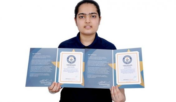 Ananya Kamboj, Successfully Participated in Three Guinness World Record Events for Football for Friendship