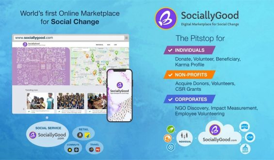 SociallyGood on the forefront of redefining publish Covid-19 help