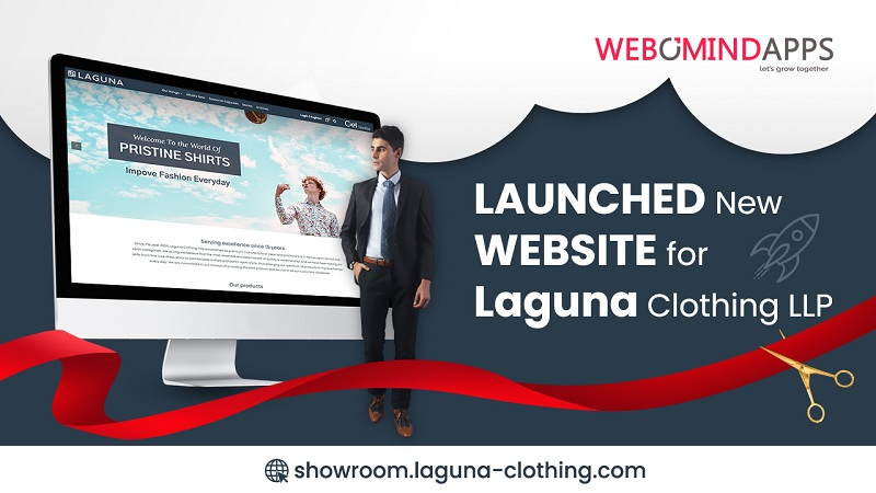 Webomindapps Publicizes the Launch of New Web site for Laguna Clothes LLP