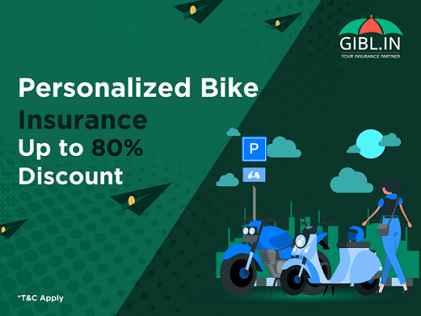 GIBL announces personalized bike insurance up to 80% discount
